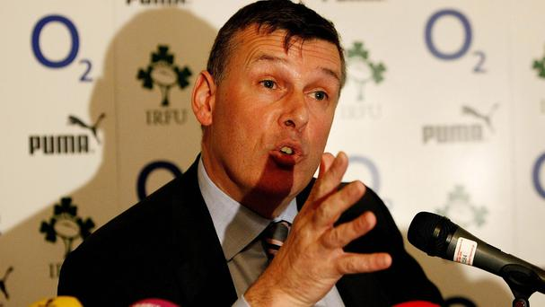 David Nucifora will attend a press conference in Dublin on Thursday alongside chief executive Philip Browne, pictured