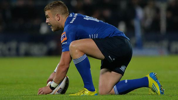 Ian Madigan kicked four penalties and a conversion for Leinster