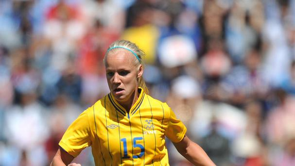 Caroline Seger and Sweden proved too strong for Northern Ireland