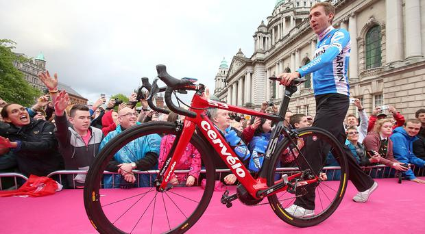 Northern Ireland is keen to put on a big show for the Giro d'Italia