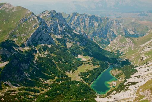 Durmitor National Park presents a challenging hike, but rewards with stunning views of any one of the 17 'Mountain Eyes' or glacial lakes.