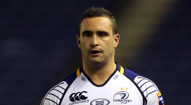 Dave Kearney scored the all-important try as Leinster edged out Edinburgh