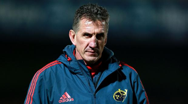 Rob Penney's final home game in charge of Munster ended in defeat