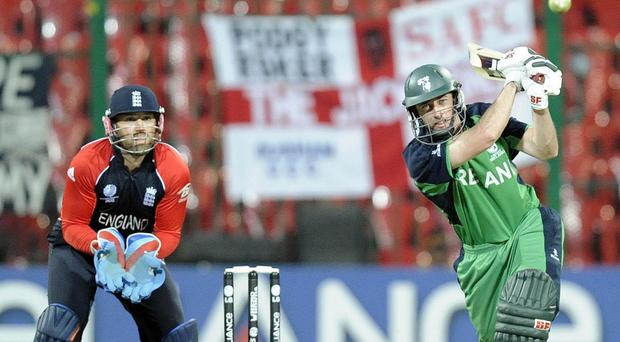Ireland famously beat England at the 2011 Cricket World Cup in India