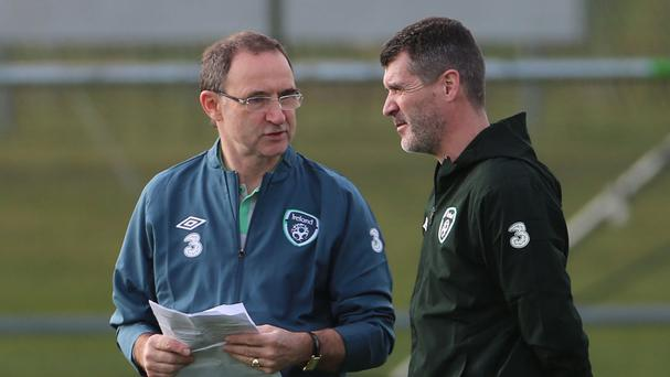 Martin O'Neill's, left, Republic of Ireland take on Turkey, Italy, Costa Rica and Portugal over the next three weeks