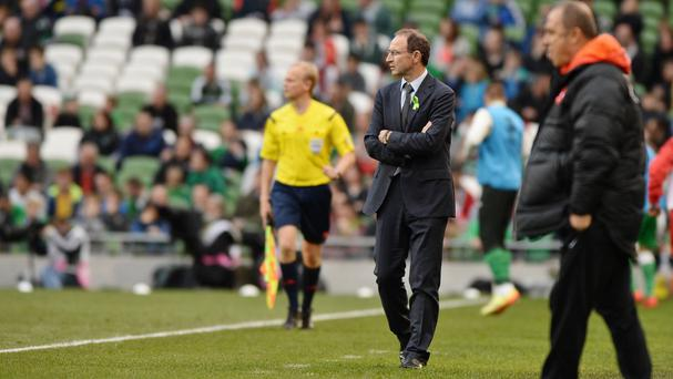 Martin O'Neill saw his side slip to defeat