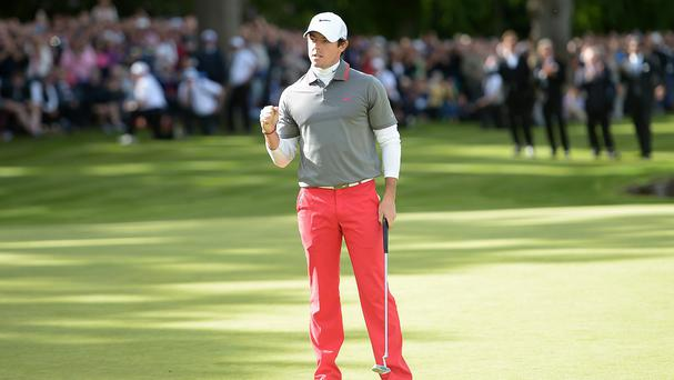 "Rory McIlroy was surprised to win following a ""weird"" week at Wentworth"