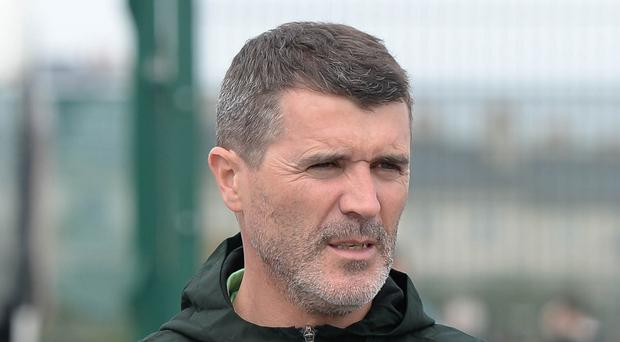 Roy Keane, pictured, has been strongly linked with replacing Neil Lennon at Celtic