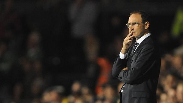 Martin O'Neill's Ireland side held Italy to a goalless draw in London