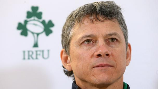 Les Kiss has urged Ireland's players to seize their chance against Argentina