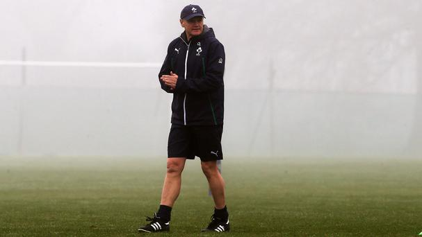 Joe Schmidt expects a tough test in Argentina