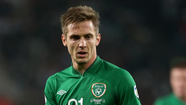 Kevin Doyle had an eventful night in Philadelphia