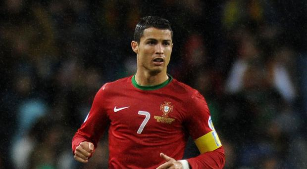 Cristiano Ronaldo played for 66 minutes against Ireland