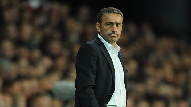 Portugal manager Paulo Bento on the touchline