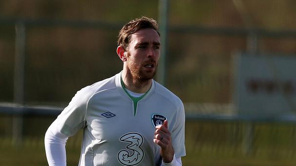 Republic of Ireland's Richard Keogh is impressed with what he saw from Portugal