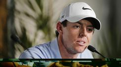 Rory McIlroy is targeting a second US Open title at Pinehurst (AP)