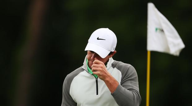 Rory McIlroy's short game was off in Ireland