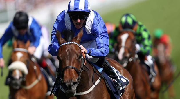 Taghrooda has Tarfasha trailing in her wake at Epsom