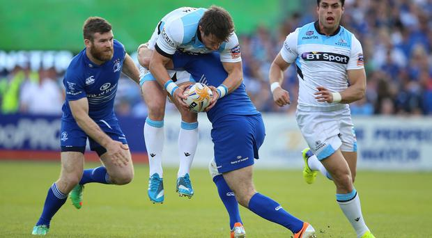 Last season's top two face off in round one as defending champions Leinster travel to Glasgow