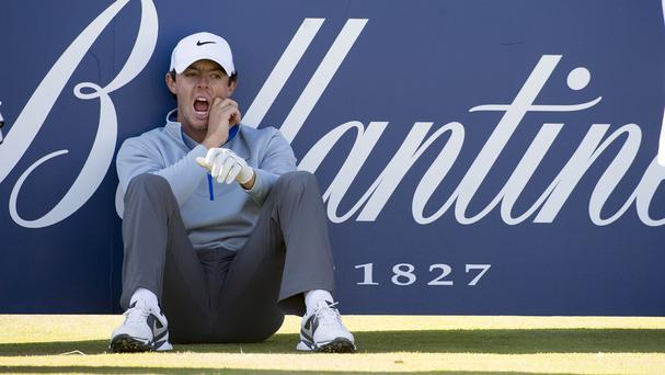 Rory McIlroy suffered another miserable Friday in Aberdeen
