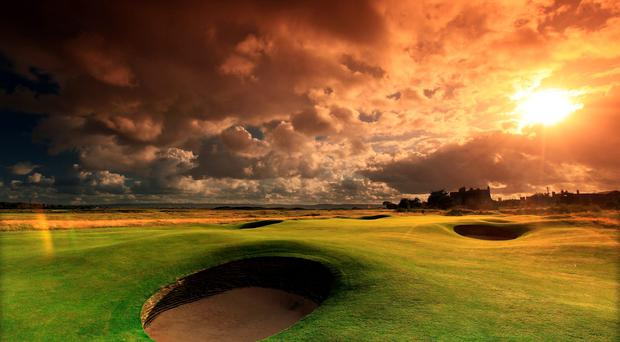 The first at Hoylake