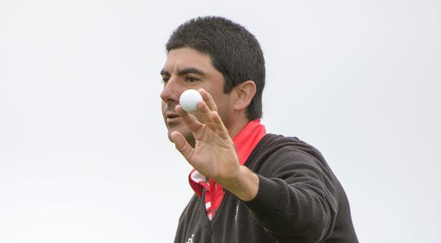 Felipe Aguilar, pictured, removed Rory McIlroy's name from the record books at Royal Aberdeen