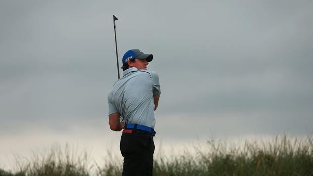 Rory McIlroy will not get complacent with a six-shot lead heading into the final round of the Open Championship