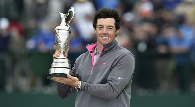 Rory McIlroy was quick to target more major success