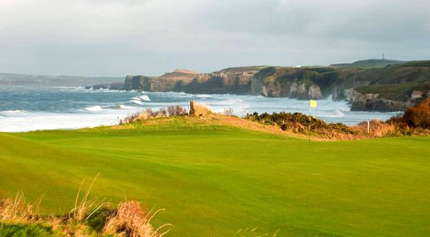 Darren Clarke: 'If it's a beautiful setting you're looking for, I can't imagine anything to stir the heart like the fifth at Portrush, going down to the White Rocks and the ocean beyond.'