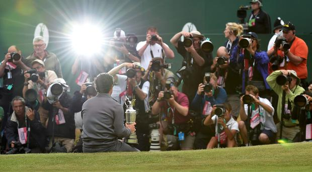 'When asked if there was anything in the trophy-laden abode that he would like to take away with him, the 18-year-old pointed with a half-smile to the Claret Jug.'