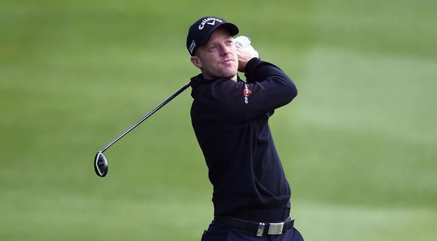 David Horsey, pictured, edged out Damien McGrane in a play-off to win the Russian Open