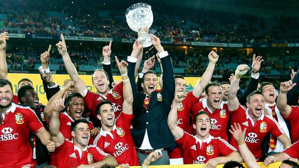 The 2013 British and Irish Lions recorded a series win over Australia