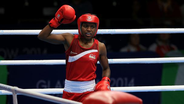 Nicola Adams, pictured, and Michaela Walsh could meet in the final