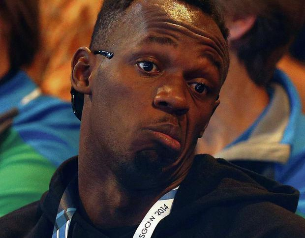 Usain Bolt has dismissed claims he described the Commonwealth Games as