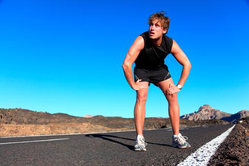 Find an alternative form of exercise that doesn't aggravate the injury and keep an exercise routine going