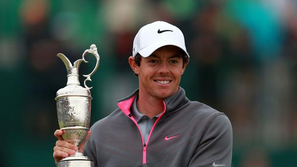 Rory McIlroy will look to add to his Open victory from earlier this year