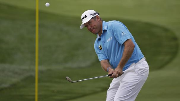 Lee Westwood carded a six-under-par 65 in the opening round (AP)