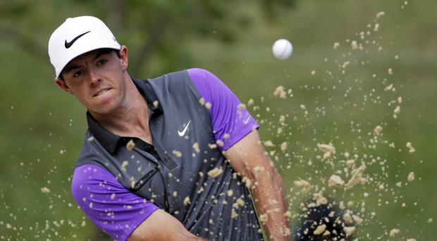 Rory McIlroy fought back after dropping two shots early on (AP)