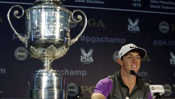 Rory McIlroy capped a remarkable summer by winning the US PGA Championship (AP)