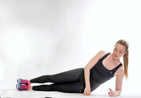 Side plank routine