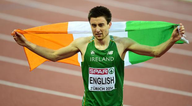 Mark English delivered Ireland's first medal of the European Championships