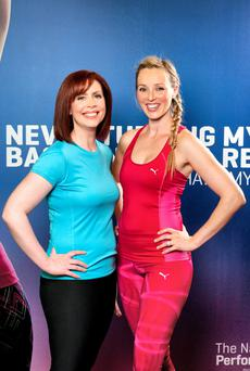 Yvonne Hogan and Siobhan Byrne at BodyByrne