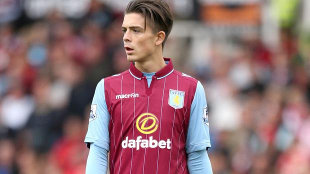 Aston Villa player Jack Grealish