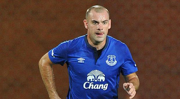 Darron Gibson will pull on the Republic of Ireland shirt for Wednesday's friendly against Oman
