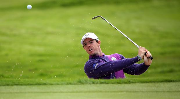 Rory McIlroy, pictured, looks set to partner Martin Kaymer at Gleneagles