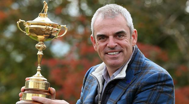 Paul McGinley will not captain the Ryder Cup side again