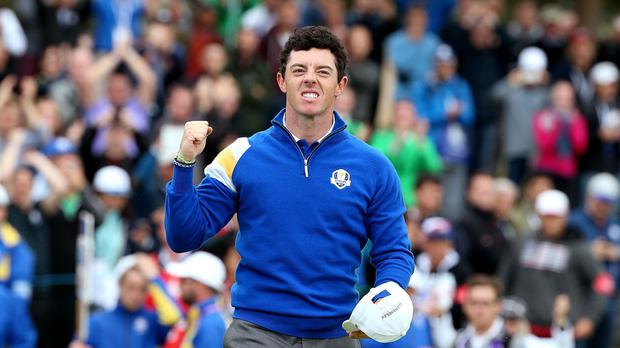 World number one Rory McIlroy is targeting more success this week