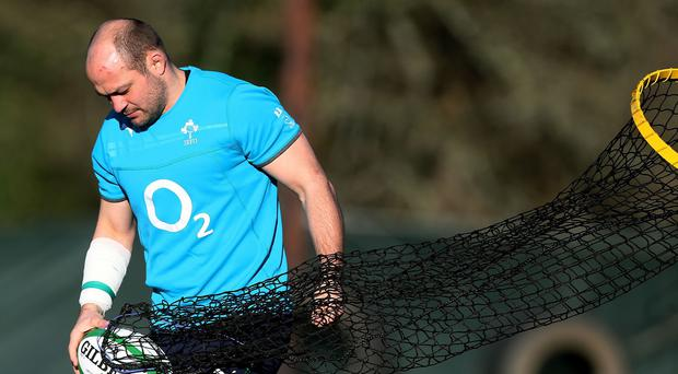 Hooker Rory Best is Ireland's latest front-row injury doubt ahead of Saturday's South Africa clash