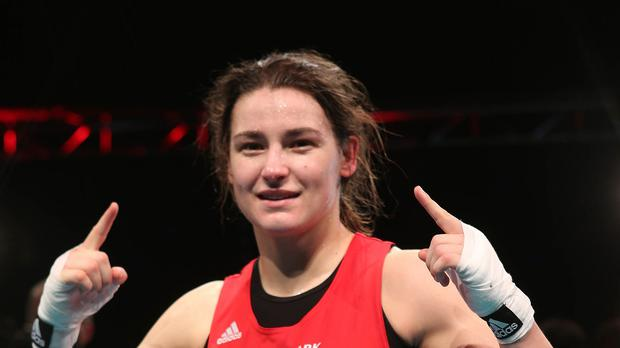 Katie Taylor will face Russian rival Sofya Ochigava in the World Championships quarter-final