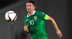 Robbie Keane did not include himself in his all-time XI
